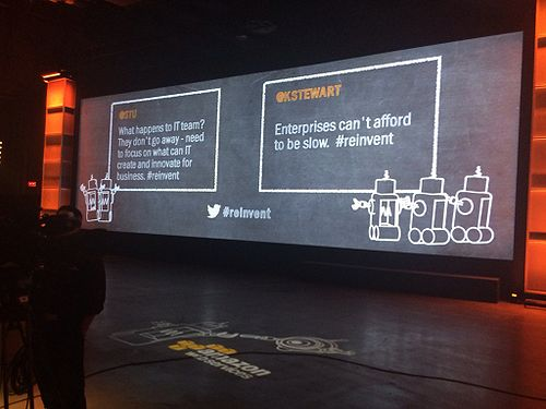 Twitter quotes posted during re:Invent 2013 keynote