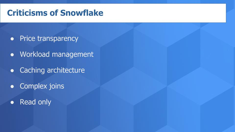 Snowflake Inc. will not become its heady valuation by merely stealing share from the on-premises data warehouse suppliers. Even if it acquired 100% of the data warehouse enterprise, it wouldn't come shut to justifying its market cap. Instead, Snowflake ought to create a wholly new market based mostly totally on totally altering one of the best ways organizations take into accounts monetizing data.