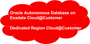 Oracle Cloud@Customer Image