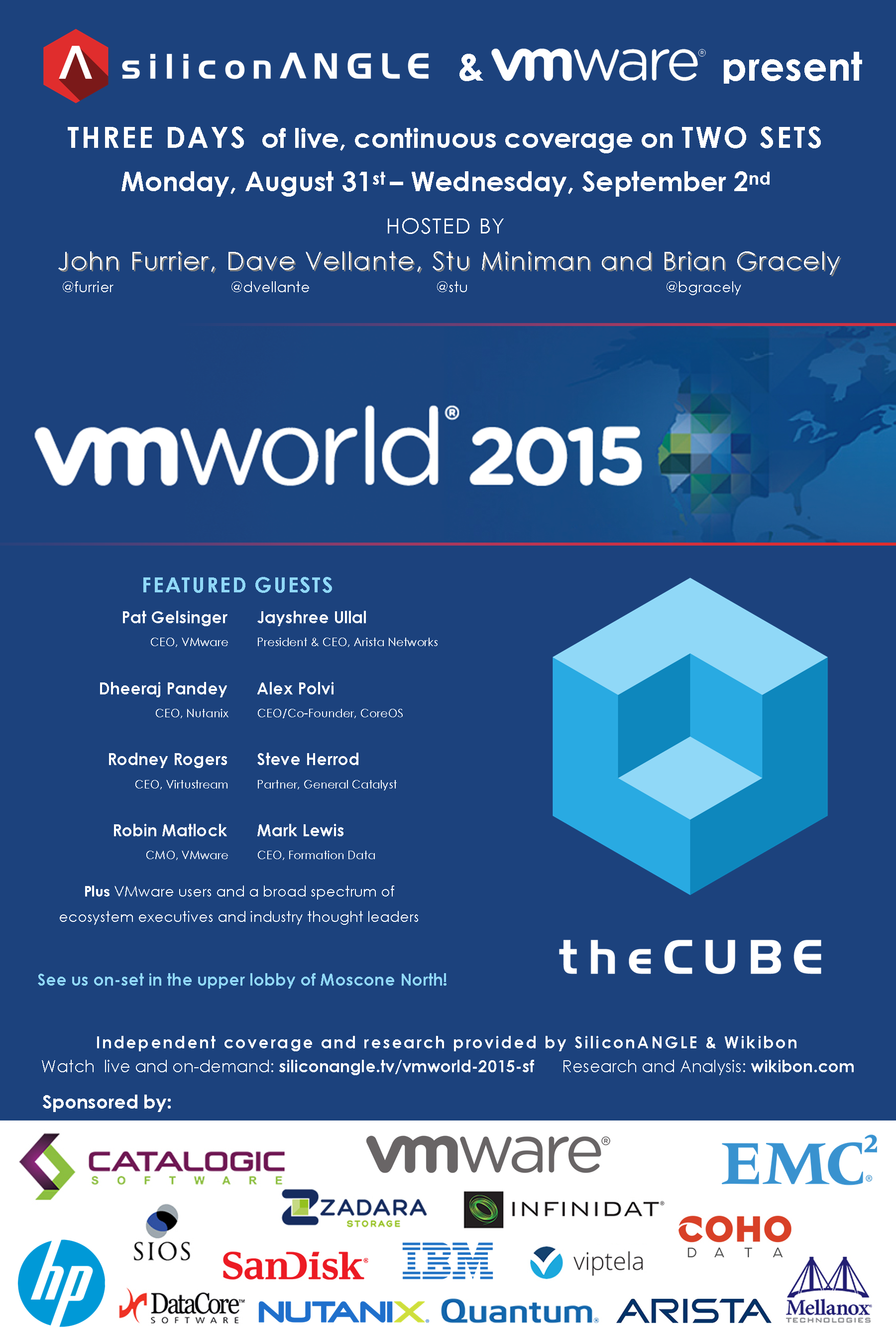 The M(any) Angles of VMworld 2015 on theCUBE - Wikibon Research